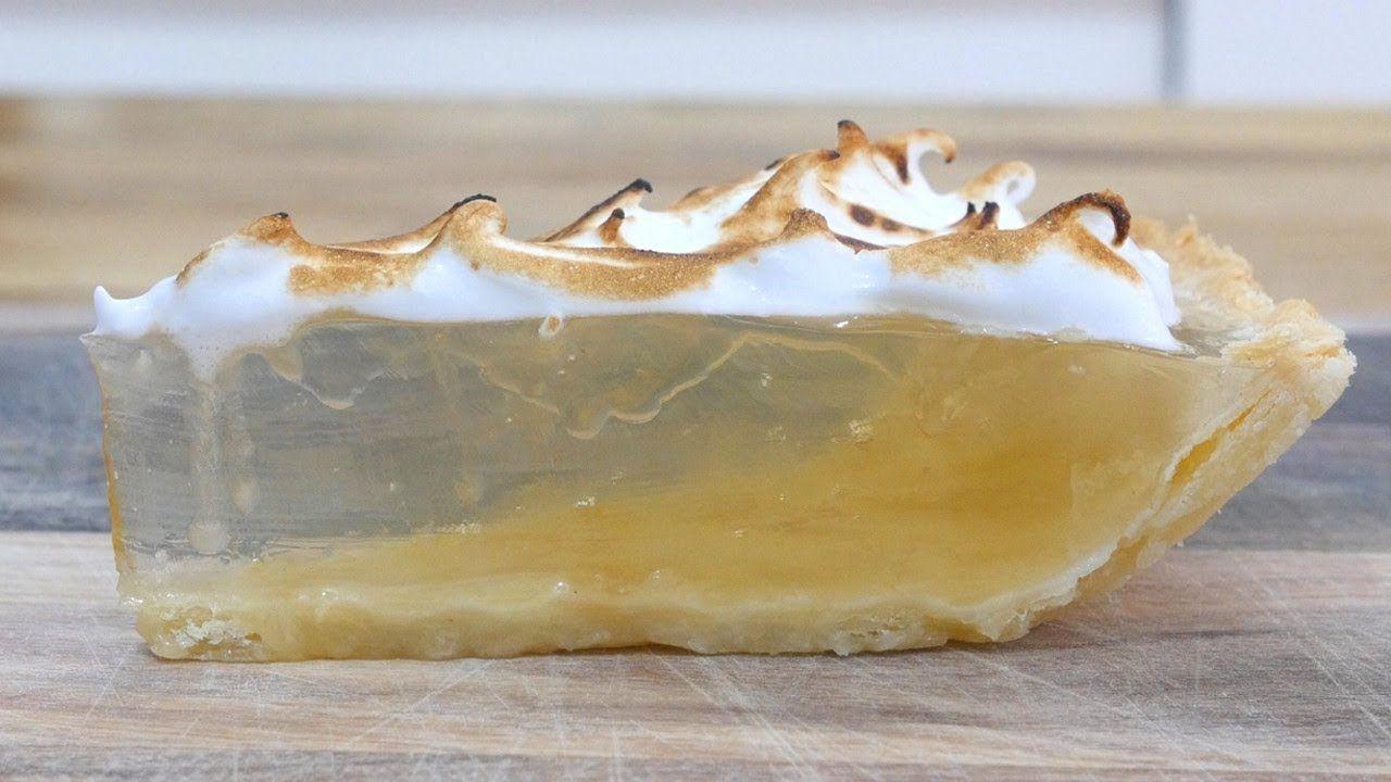 Clear Lemon Meringue Pie #lemonmeringuecheesecake