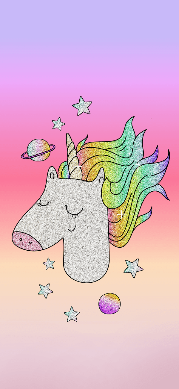 Free Glitter Unicorn Iphone Wallpaper This Design Is Available