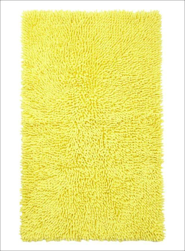 Bright Yellow Bathroom Rugs Bathroomrugs