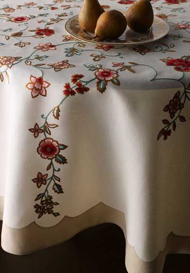 Bespoke Table Linens By Leron Celine Table Linens From The