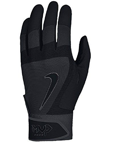 Nike Mvp Edge Baseball Batting Glove Black Size Small Nike Batting Gloves Gloves Softball Outfits