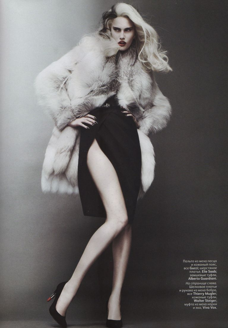 "2""On the Verge of Acute"" : Alla Kostromichova : Vogue Russia October 2011 : Jason Kibbler"