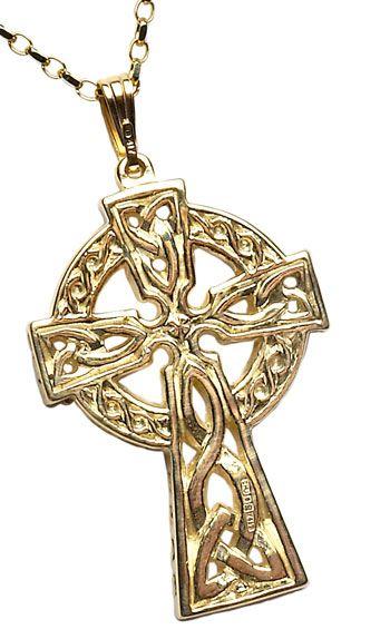 Ireland Celtic Cross Jewelry Celtic Gold Cross And Celtic Silver Cross Made In Ireland Celtic Cross Jewelry Irish Jewelry Charm Necklace Silver
