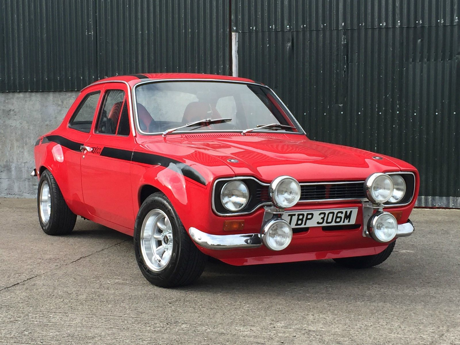 1974 Ford Escort MK 1 RS Mexico RS2000 | Ford escort, Ford and eBay