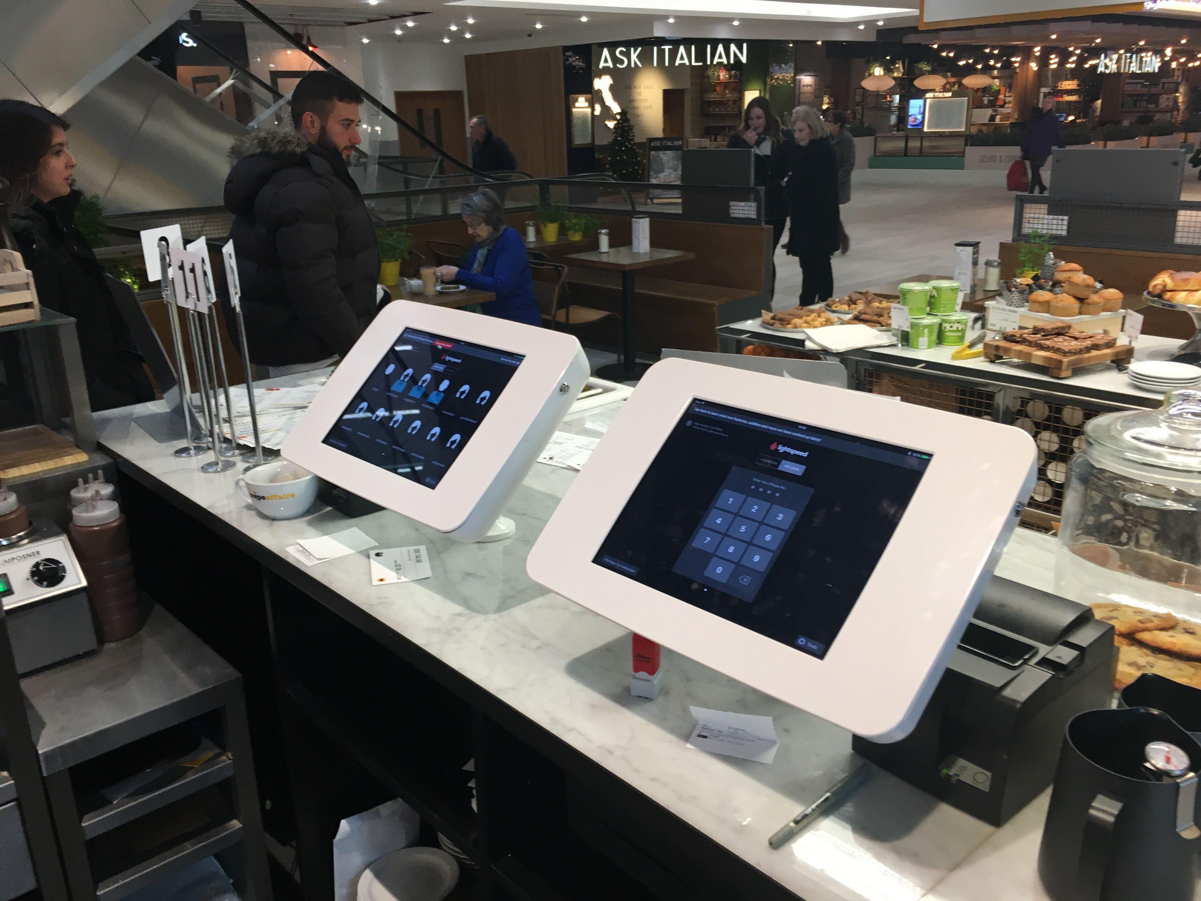 No Restaurant Too Big, Nor Café Too Small Food tech