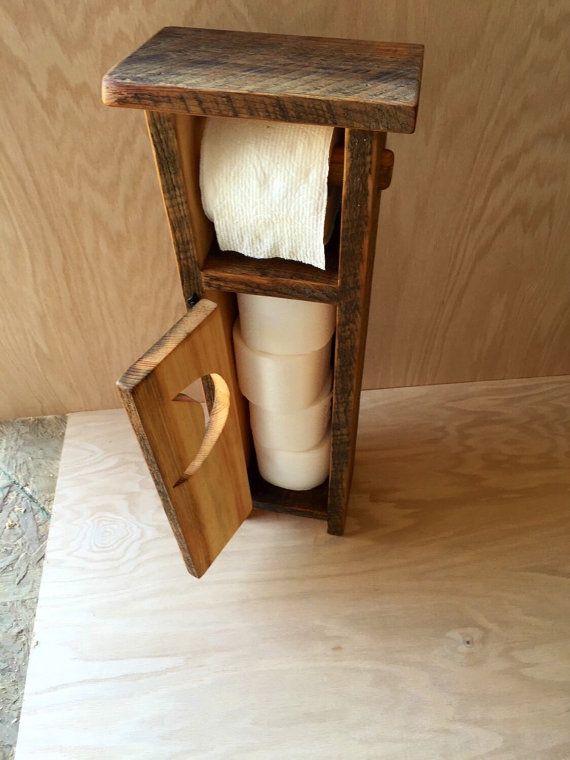 Landhaus Toilettenpapierhalter Von OutOfTheWoodworkFurn Auf Etsy