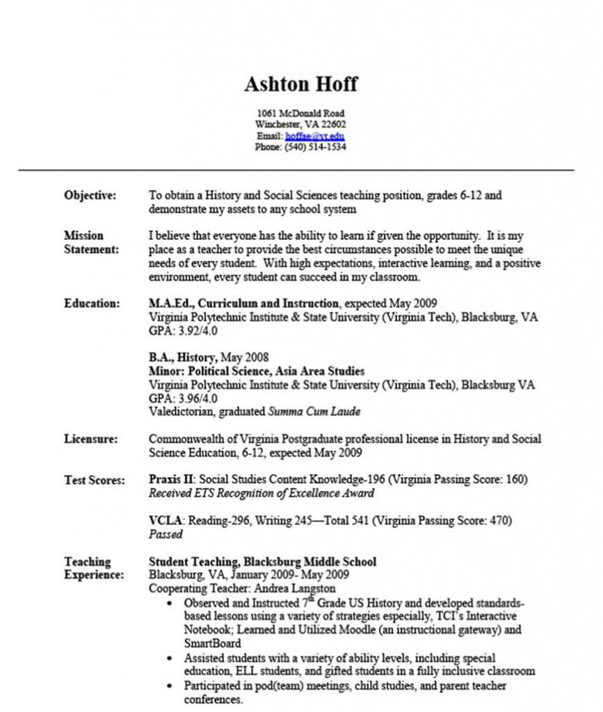 Experience resume example resume samples pinterest for Sample resume for experienced assistant professor in engineering college