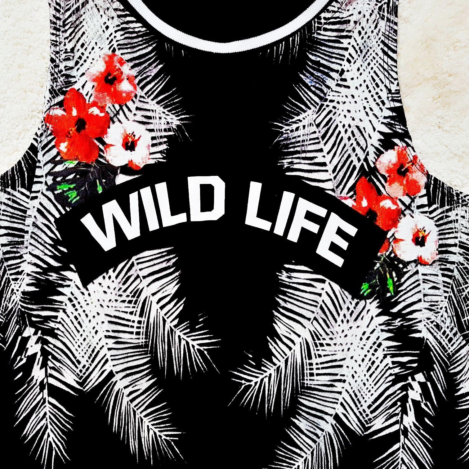 Top mit Druck Wild Life