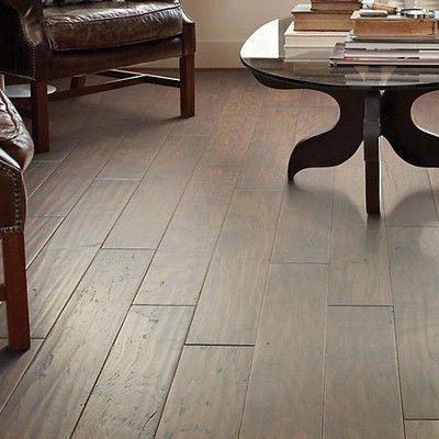 "Forest Valley Flooring Camden Hills 5"" Engineered Hickory Hardwood Flooring in Lasso"