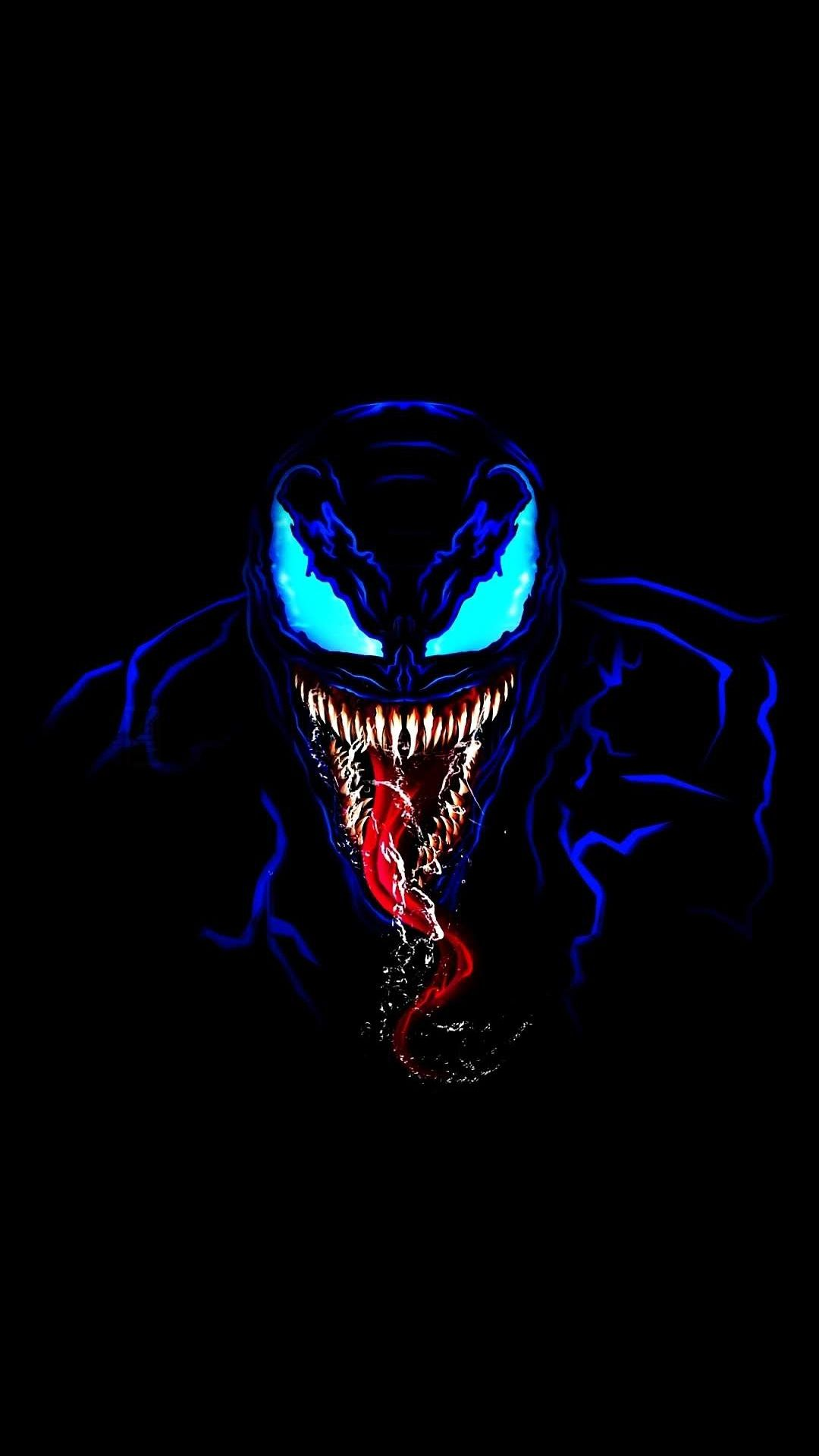 iPhone Wallpapers HD from iphoneswallpapers.com,  Venom in Dark iPhone Wallpaper