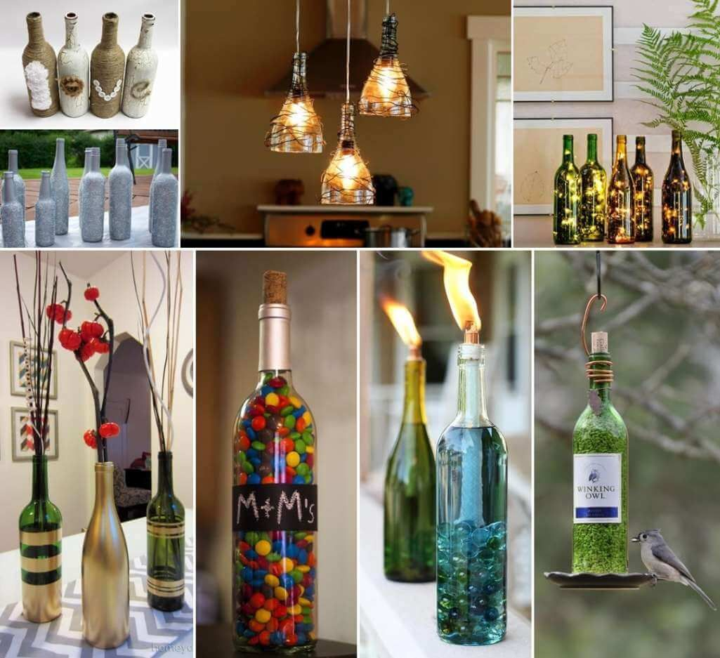 26 Creative Wine Bottle Crafts for You