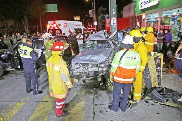 Puebla registra 190 muertes por accidentes de tránsito
