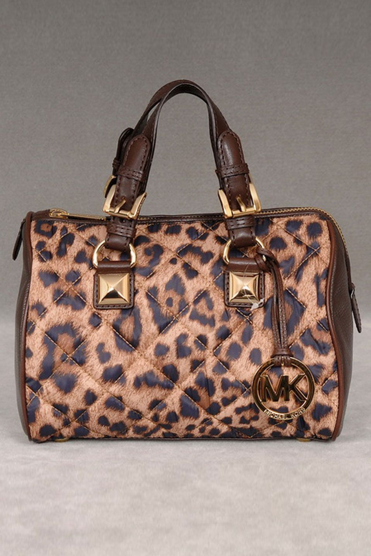 480053880d29 MICHAEL Michael Kors Grayson Satchel In Leopard - Beyond the Rack=Wouldn't  Lisa love this?
