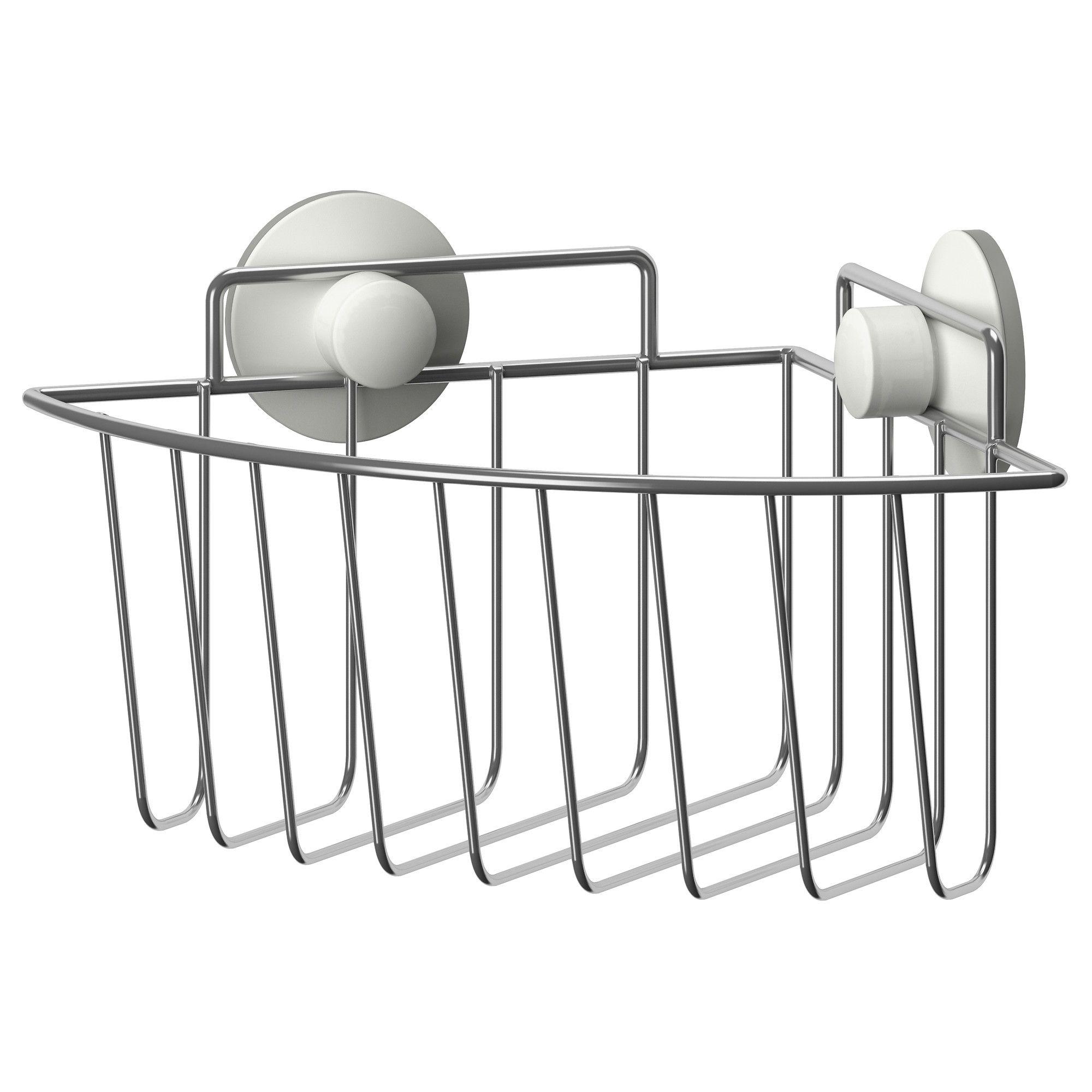 IMMELN Corner shower basket IKEA Ikea bathroom