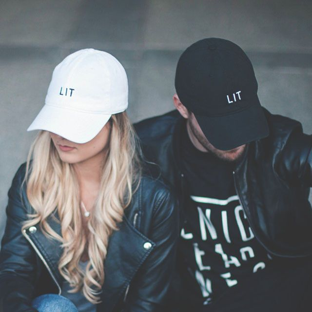 LIT AF - embroidered dad hat ( unisex ) – Apparel Hotline  40b0b16e12ff