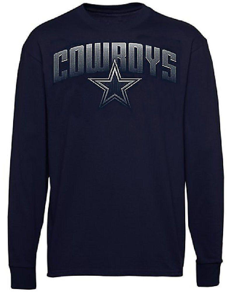 Dallas Cowboys Mens Navy Ascender Long Sleeve Tee Shirt  26.95 ... 257f8e196