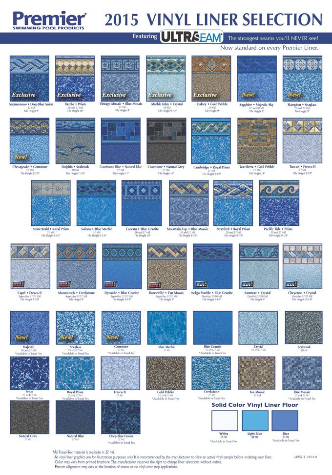 Pool Liner Designs For Inground Pools fiberglass pools vs vinyl liner pools vs concrete pools an honest comparison Pool Liner Texture Central Pools And Spas Vinyl Liner Replacement Pacific Premier Image