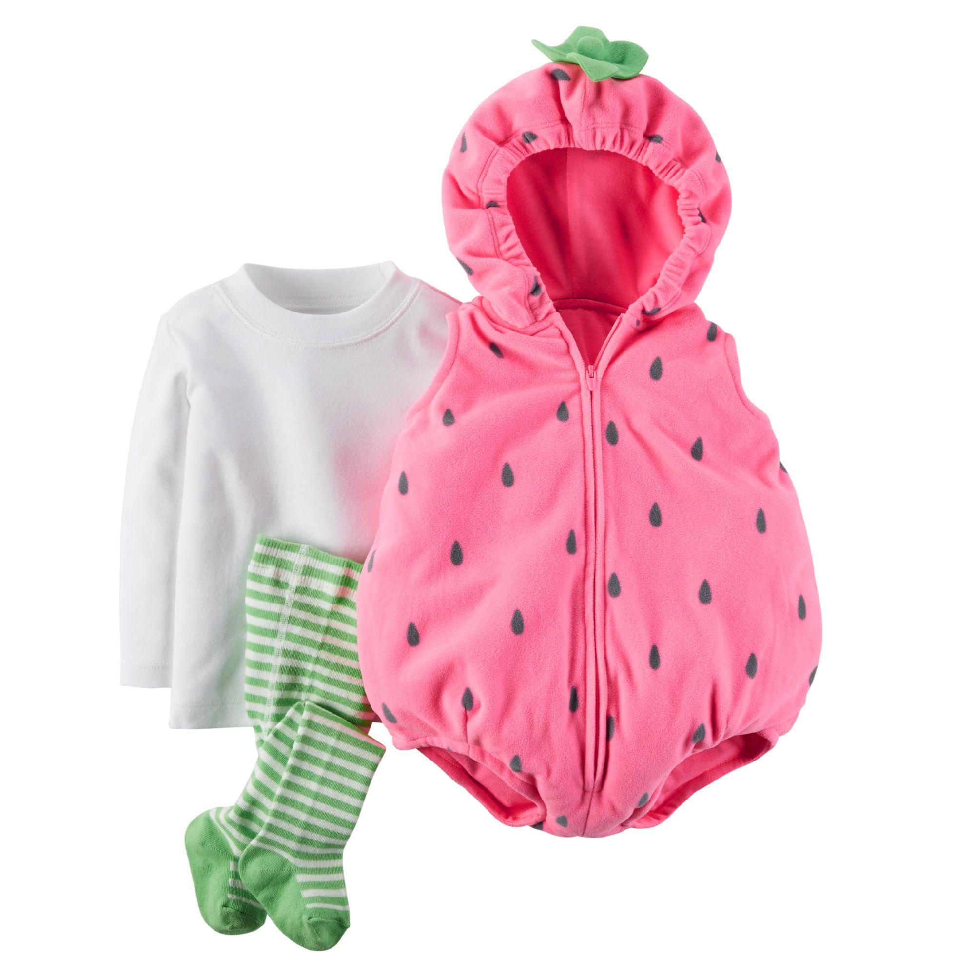 bite sized strawberry halloween costumebite sized strawberry halloween costume pink - Strawberry Halloween Costume Baby