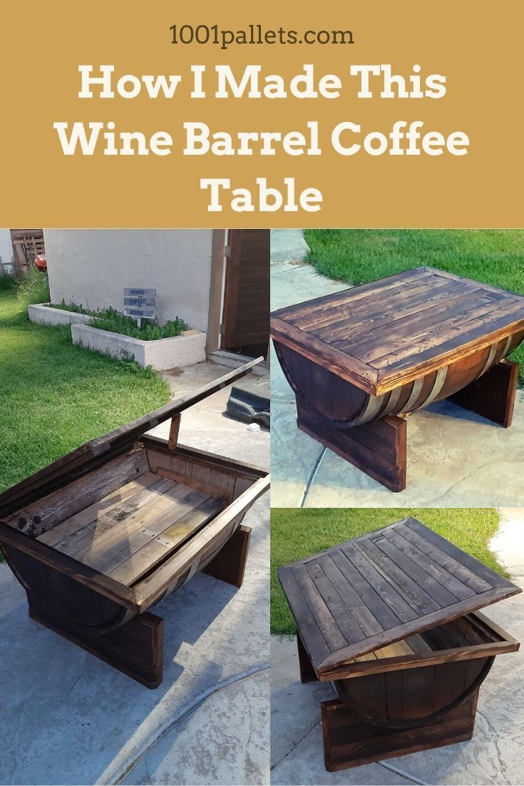 Pin on Pallet Coffee Tables