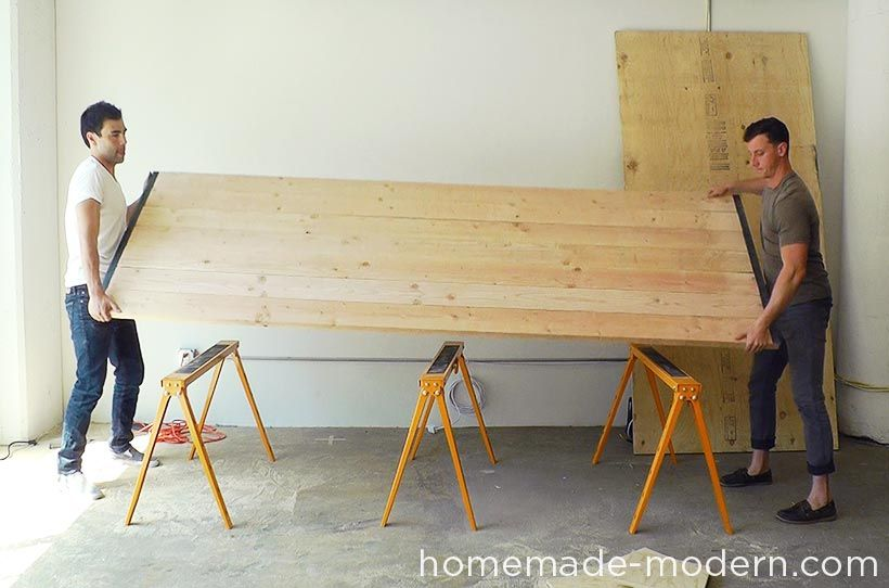 Metal Edges To Table Top Table It For Later Pinterest Homemade - 16 person conference table