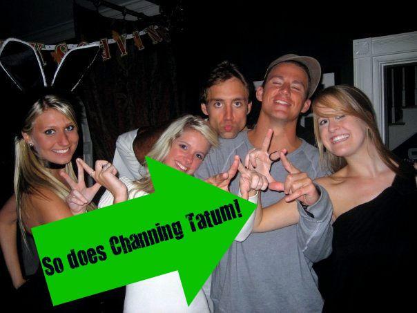 Channing Tatum loves Kappa Delta