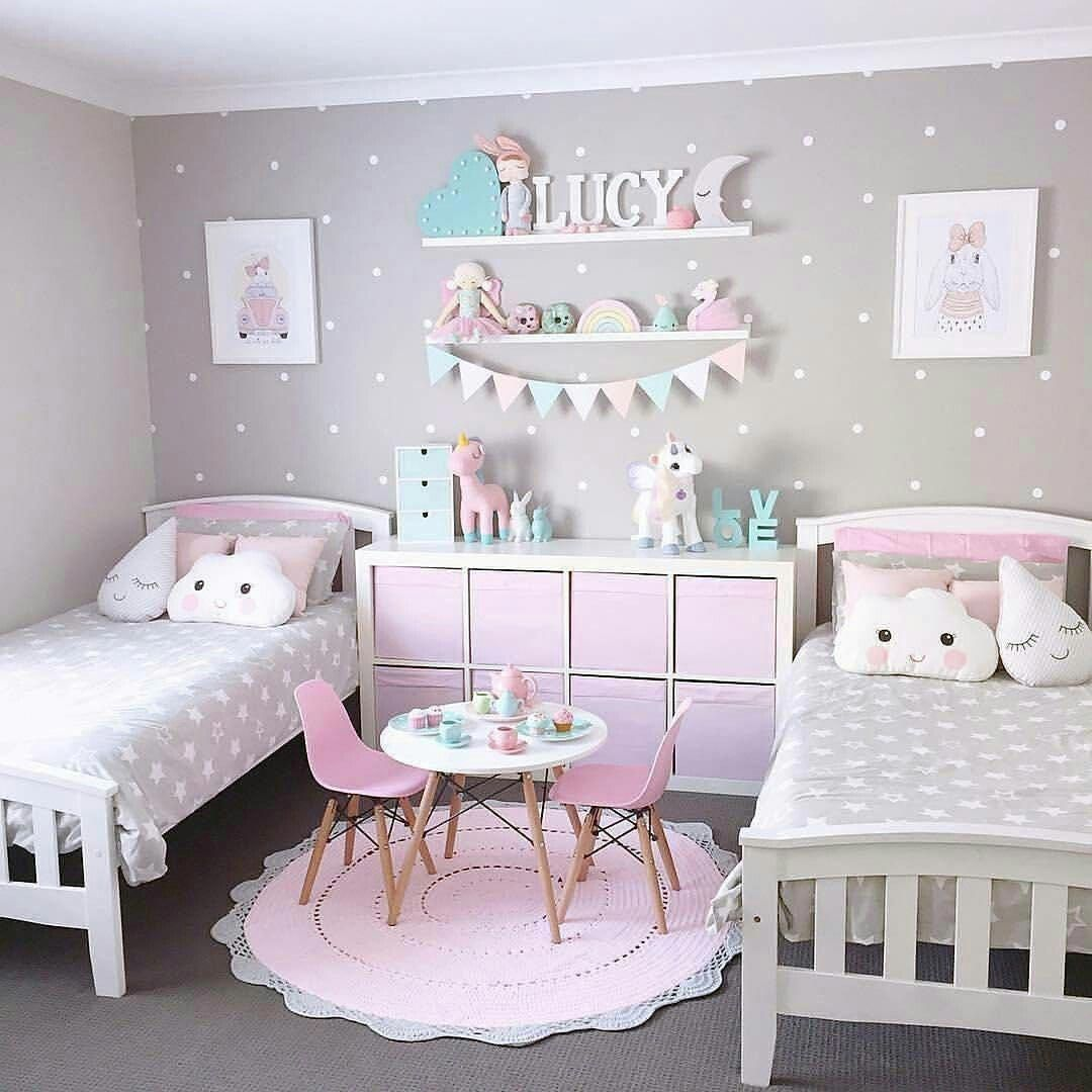 10 Girls Bedroom Paint Ideas 11 Year Old Girl Girlsbedroomsets Want To Try This Idea Room Twin Bedrooms Themes