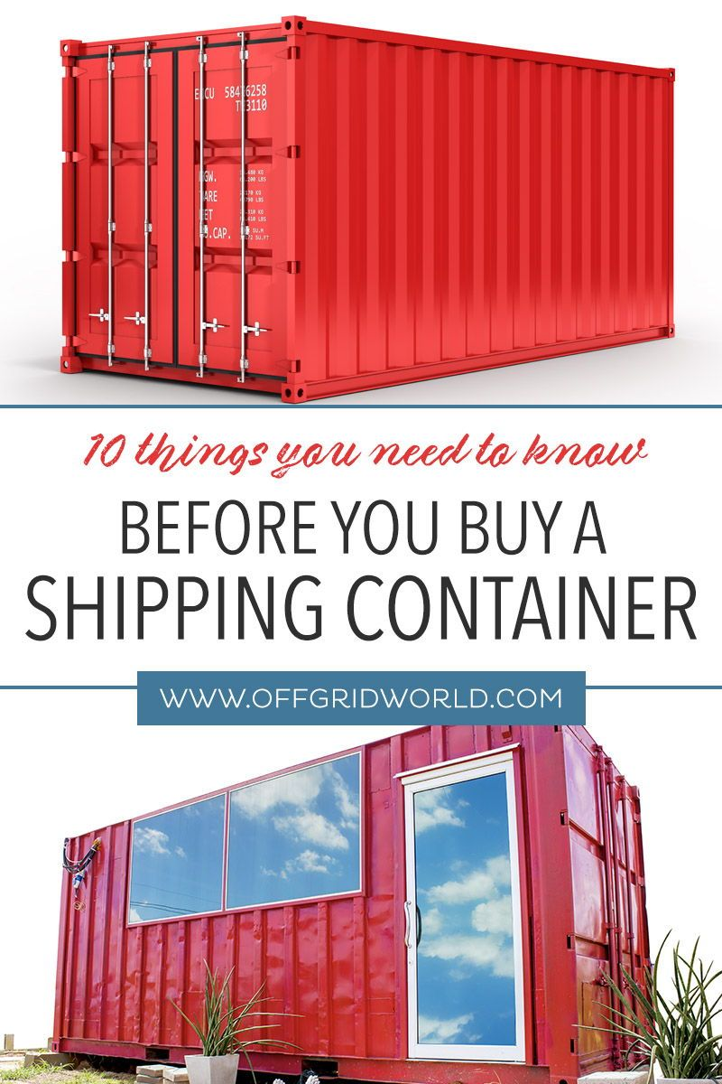 Buying A Shipping Container In 2020 Shipping Container Buy Shipping Container Container House
