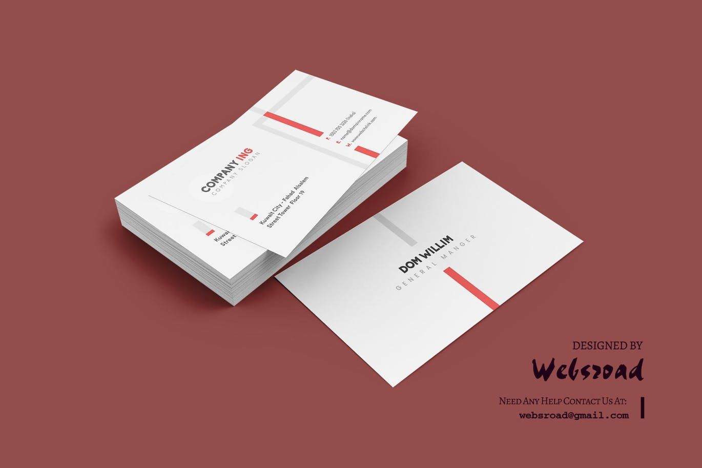 Business Card Template Ai Eps Psd Download Business Card