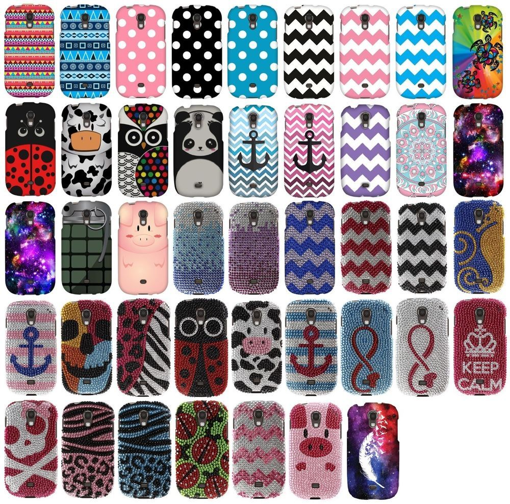 For Samsung Galaxy Light T399 Snap On Protector Rubberized ...