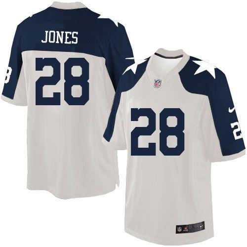 mens nike dallas cowboys 28 felix jones limited white throwback alternate nfl jersey sale