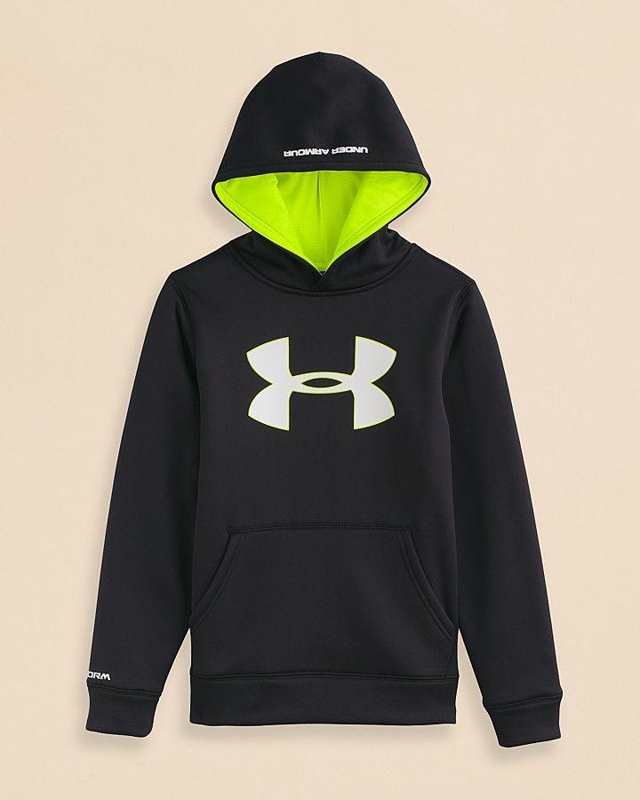 09233d4cb Under Armour Boys' AF Storm Big Logo Hoodie - Sizes S-XL on shopstyle.com