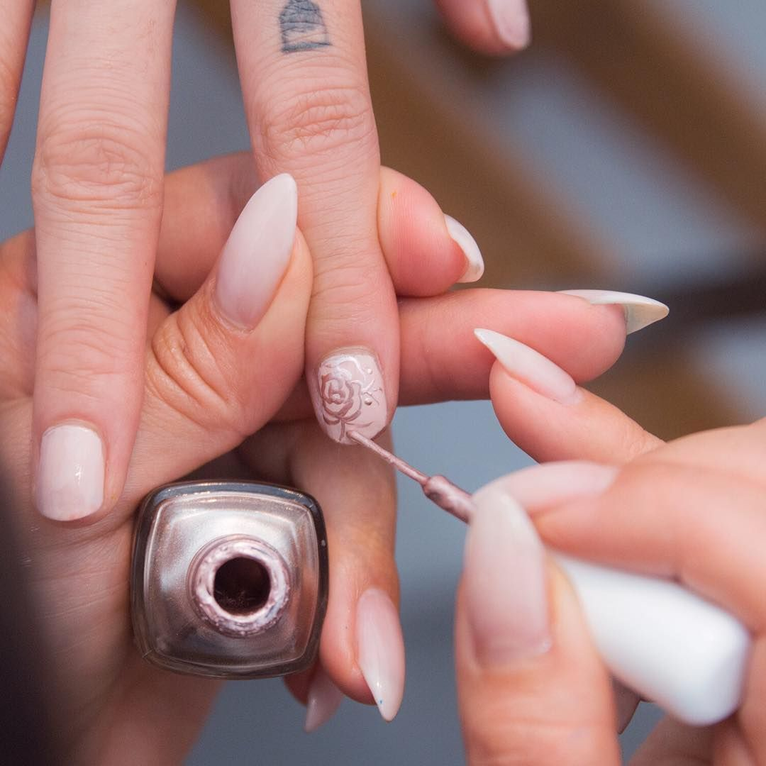 The 30 Coolest Nail Trends For Spring 2018 | Nail trends and Manicure