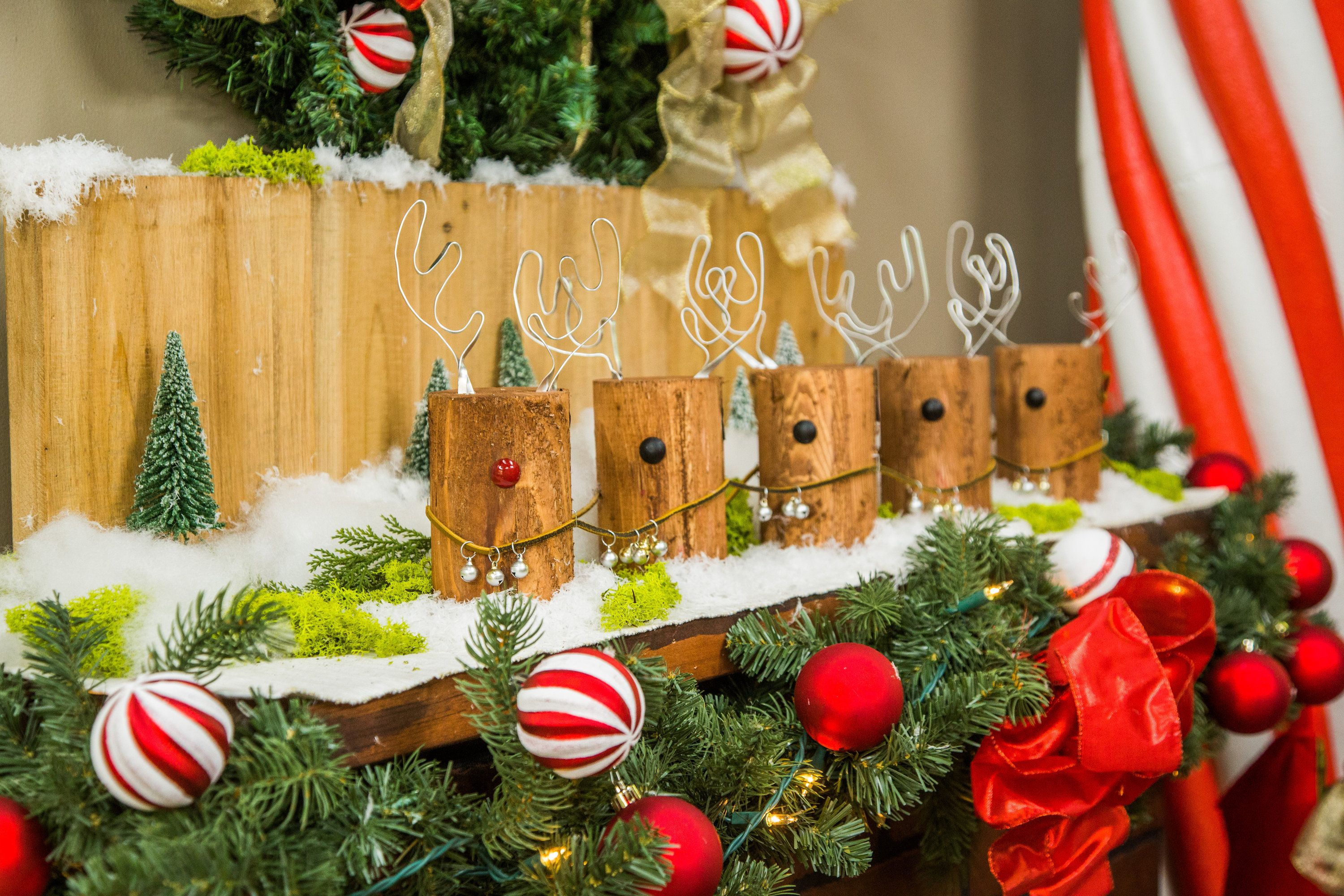Cute, festive and the perfect little holiday decoration