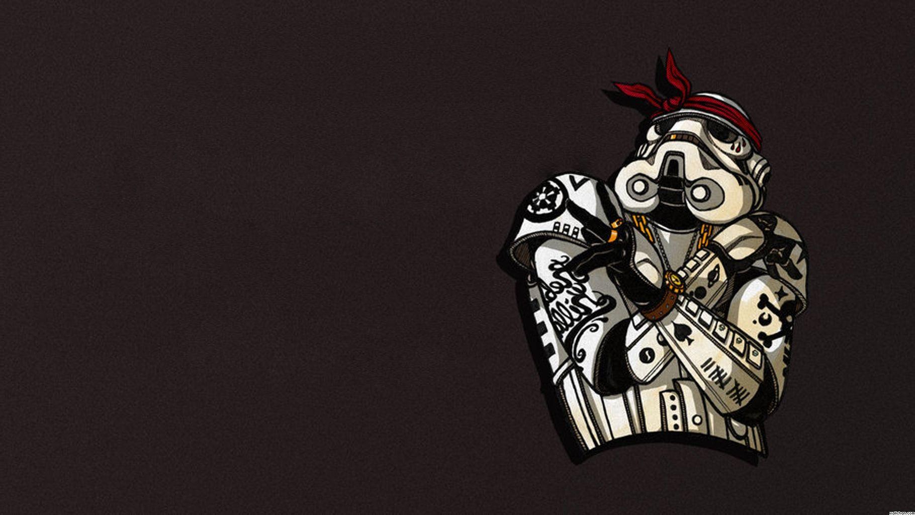 Stormtrooper Gangster Star wars wallpaper, Cool