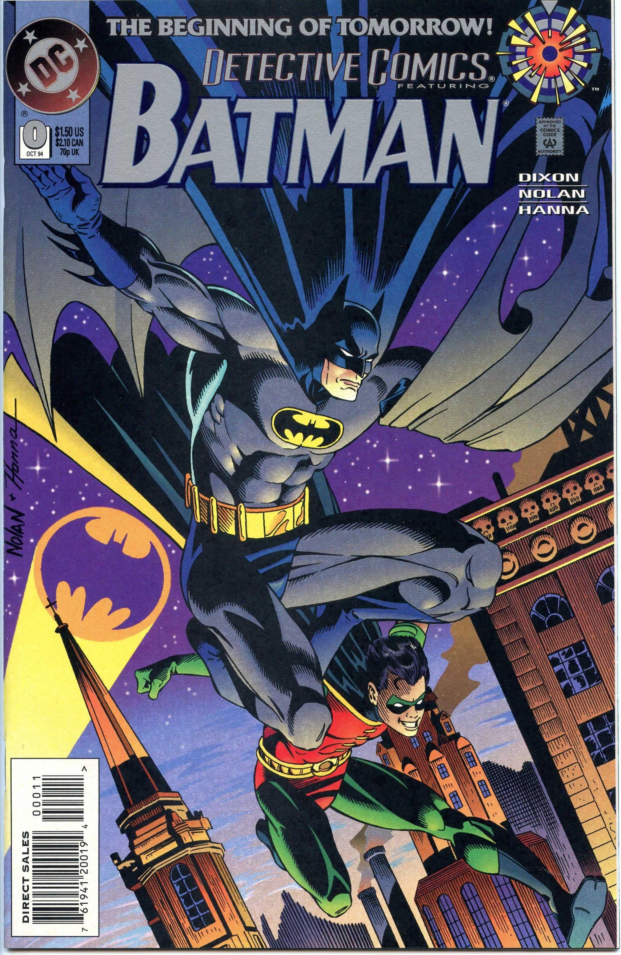 Detective comics vol 1 0 cover art by graham nolan