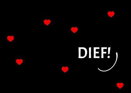 Jij bent mijn... hartedief :)