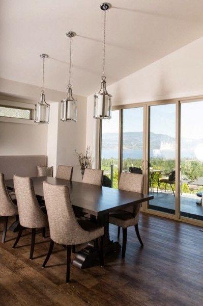Contoh Lampu Gantung Pada Ruang Makan | Desain Interior, Interior, Ruang  Makan