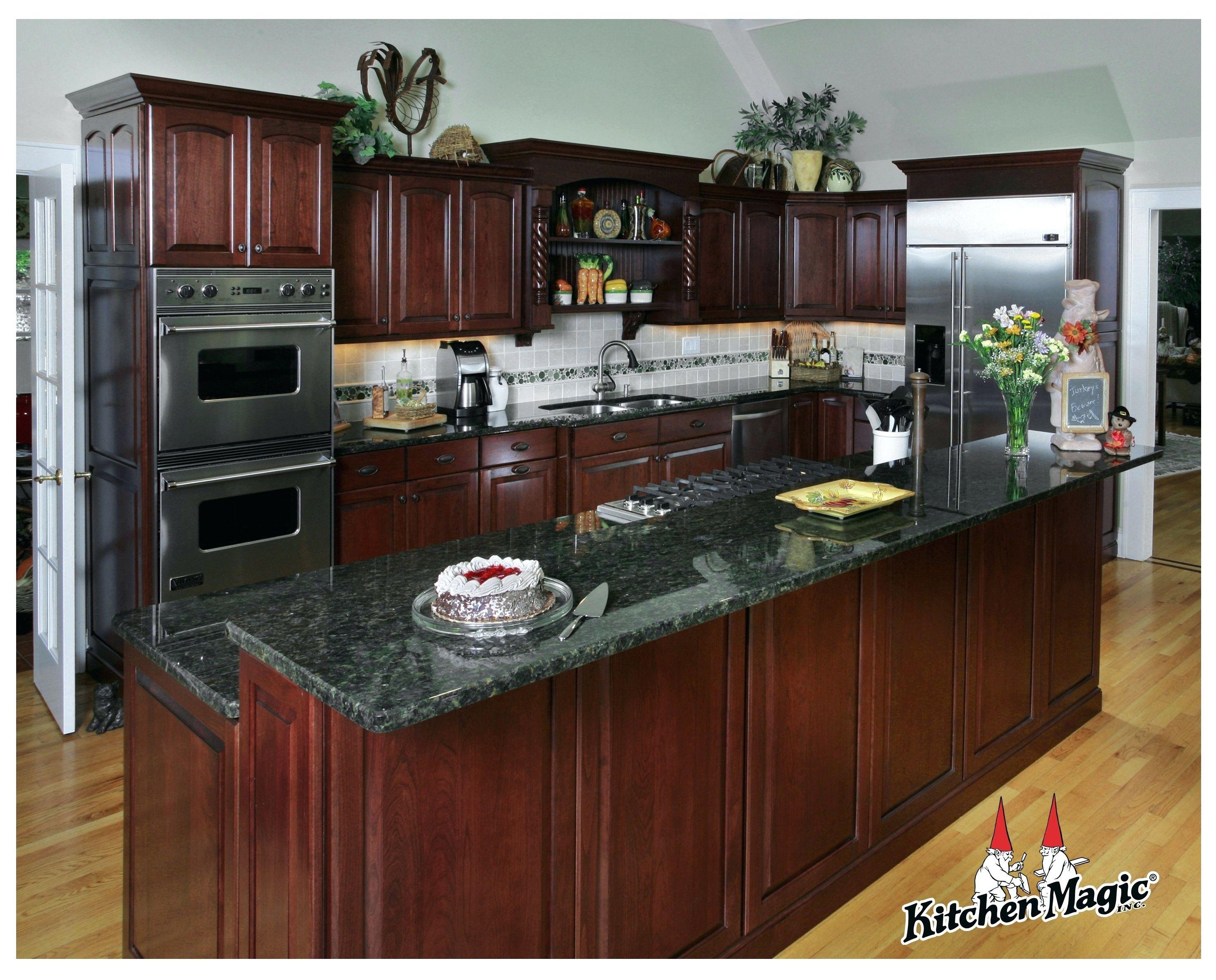 Magic Eraser Kitchen Cabinets Cherry Cabinets Kitchen Cherry Wood Kitchens Kitchen Cabinets And Granite