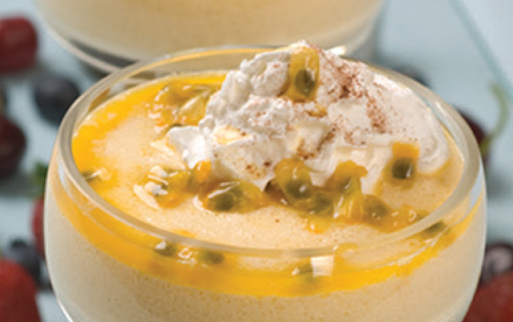 Photo of Learn how to make Chinola Mousse with this fun and easy recipe! Cook …