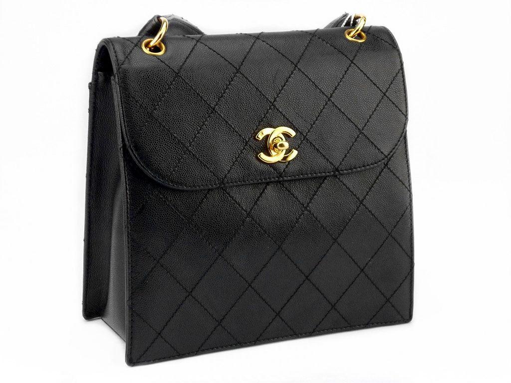 #CHANEL Vintage Bag  Good Condition Ref-KSET-5