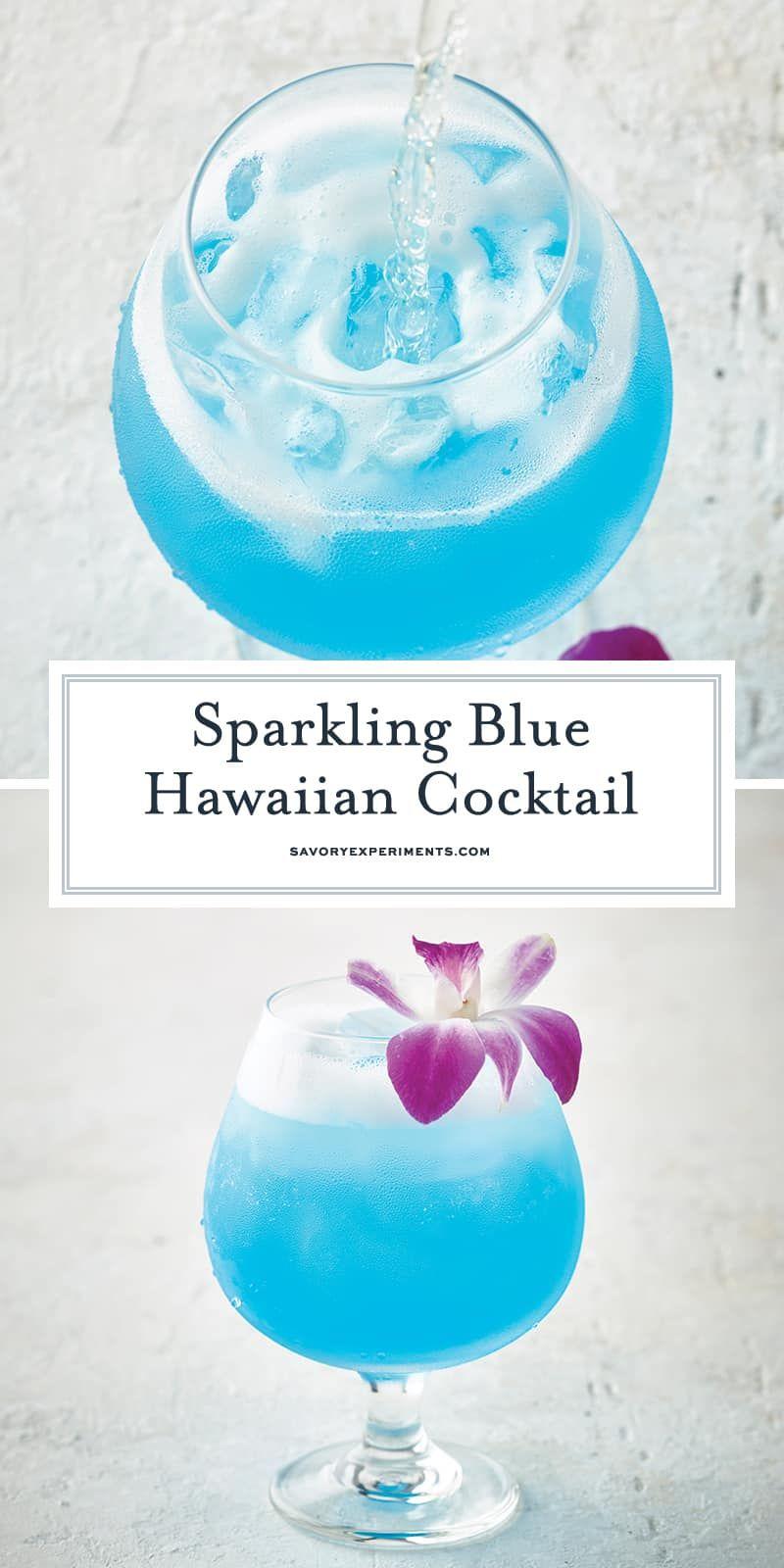 Photo of Sparkling Blue Hawaiian