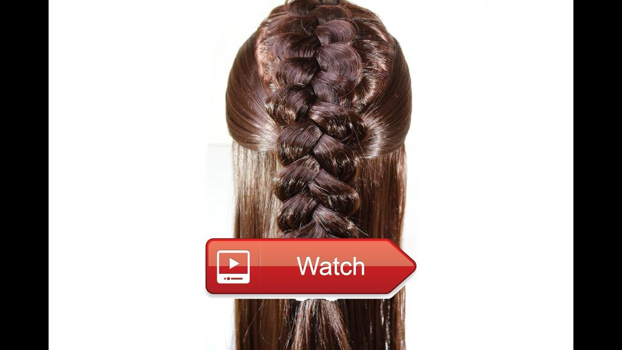 Quick easy everyday hairstyle for long hair hello today i will show