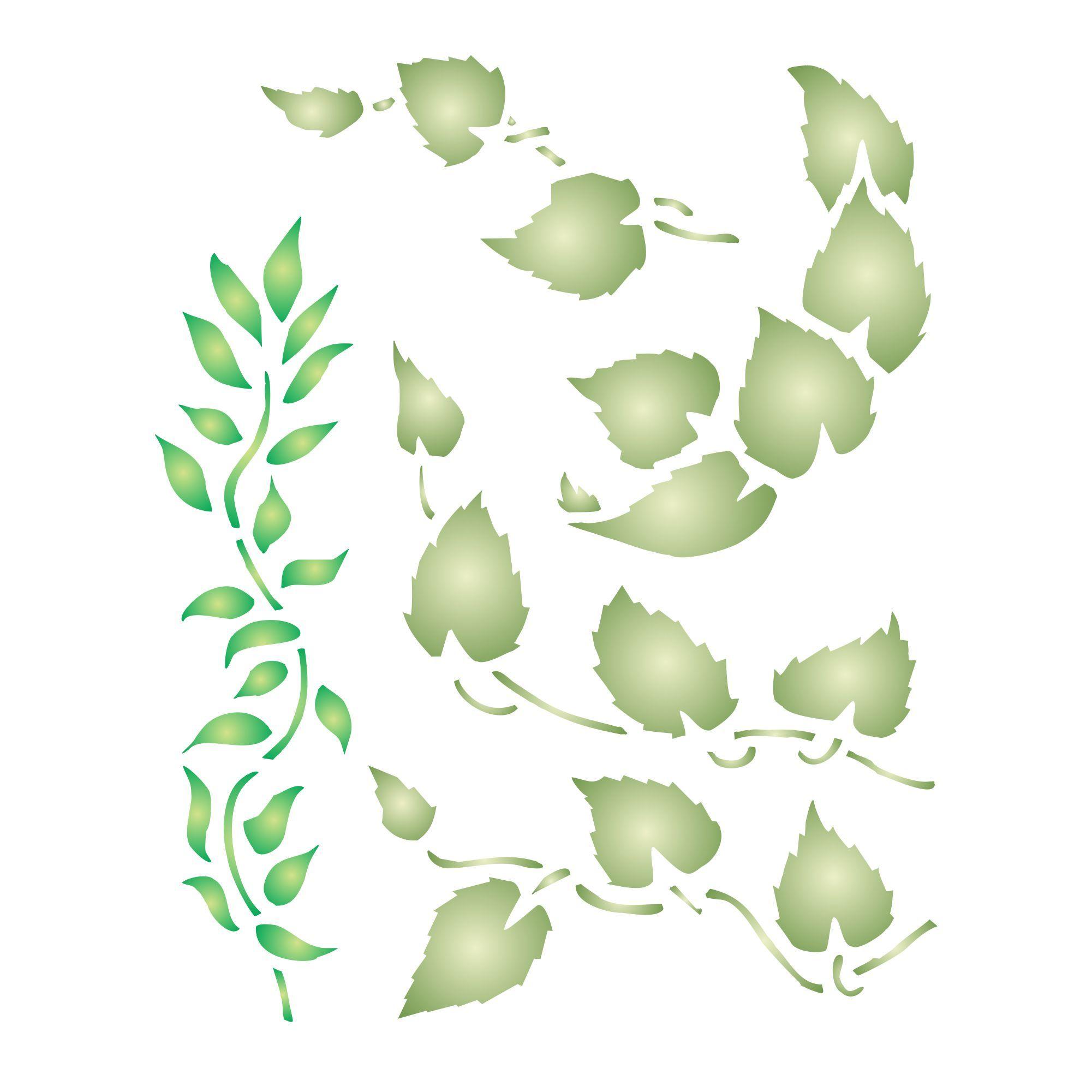 Leaf Stencil Http Www Amazon Com Dp B00y71qipe M A1seuoz4t4hcbd Leaf Stencil Stencil Painting Stencils