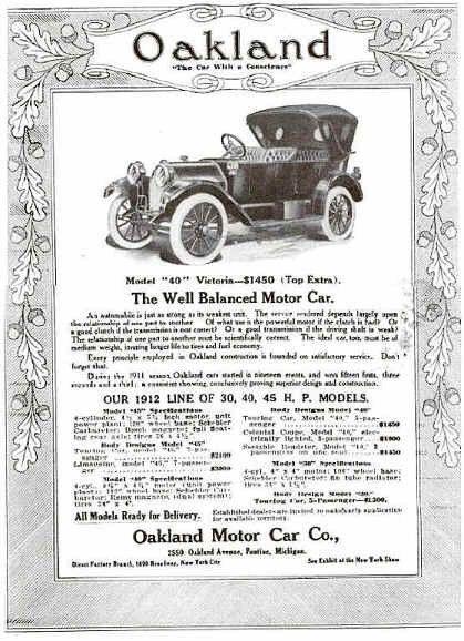 Automobile Advertisements 1920