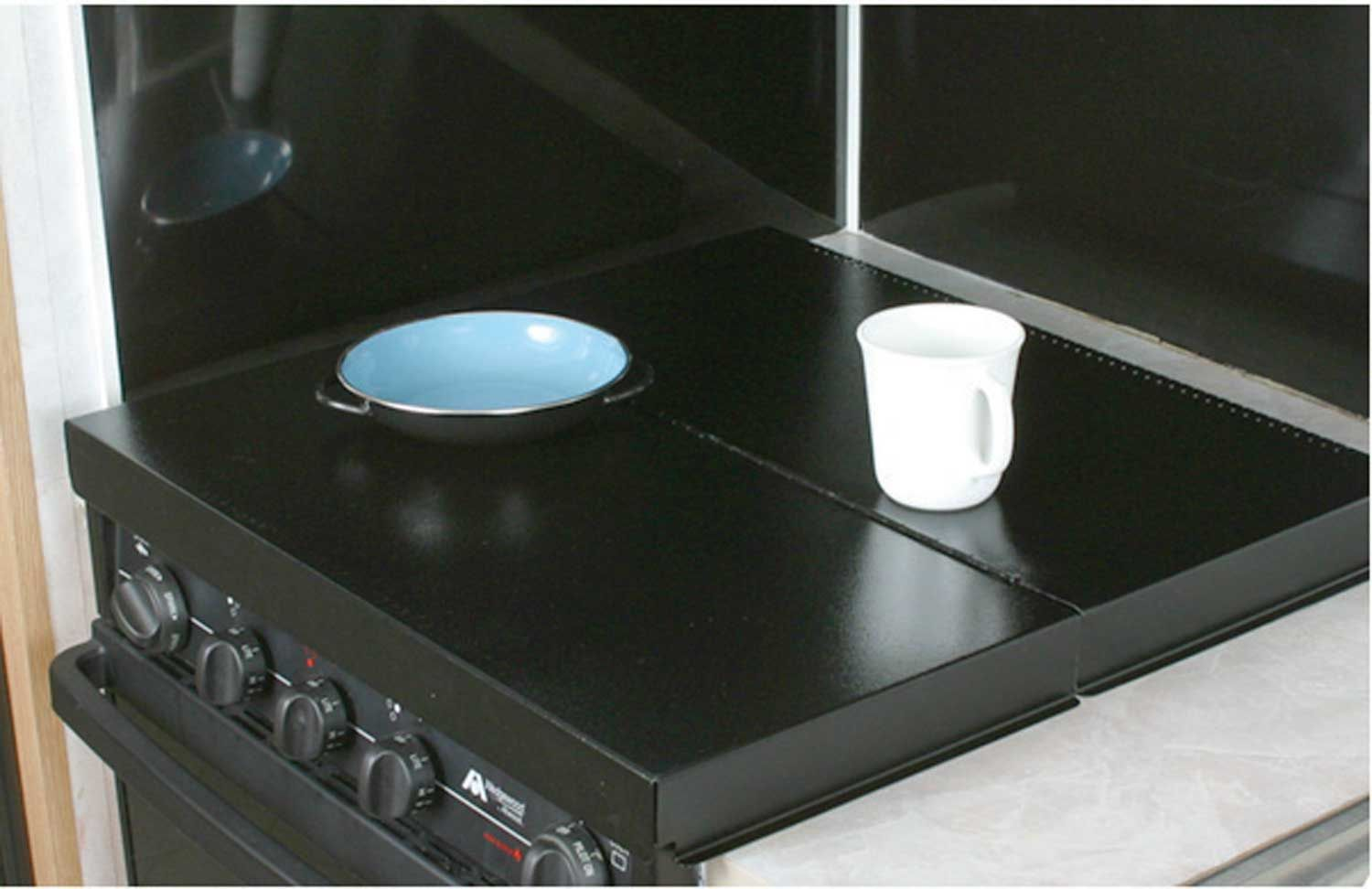 gas stove burner cover. Black Universal Stove Top Cover - Camco 43554 Counter \u0026 Tops Camping World Gas Burner