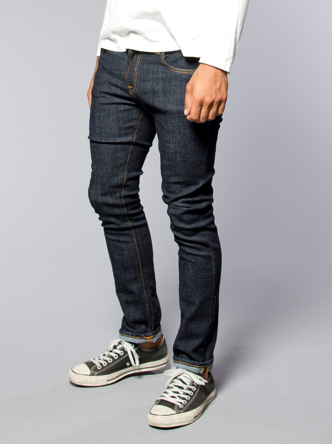 Tube Tom Twill Rinsed - Nudie Jeans Co Online Shop  2640174d4