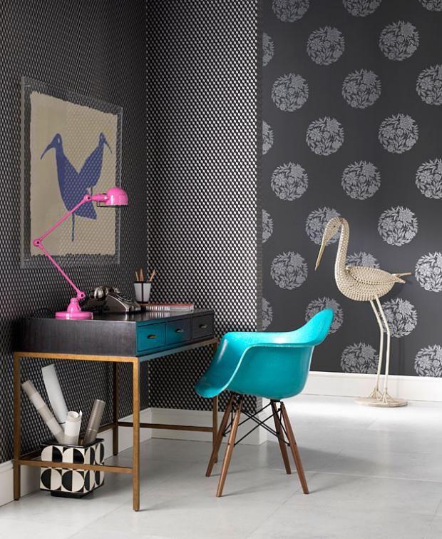 Neue Muster für die Tapete Gelungener Mustermix \ - moderne tapeten fr schlafzimmer