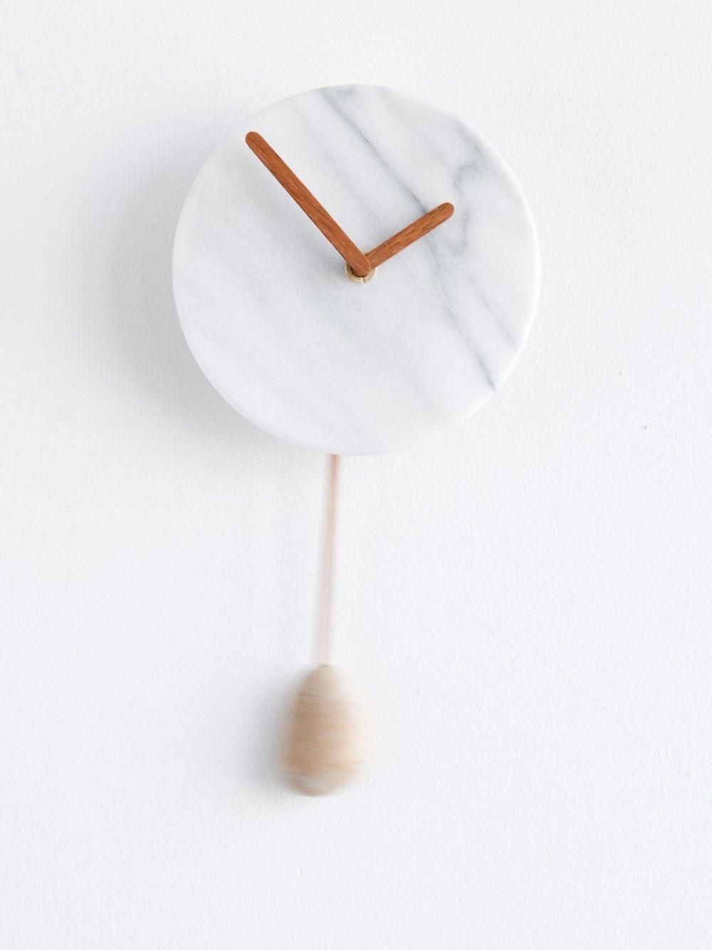 Marble Clock Kneip Norway Designs Norwegian Design