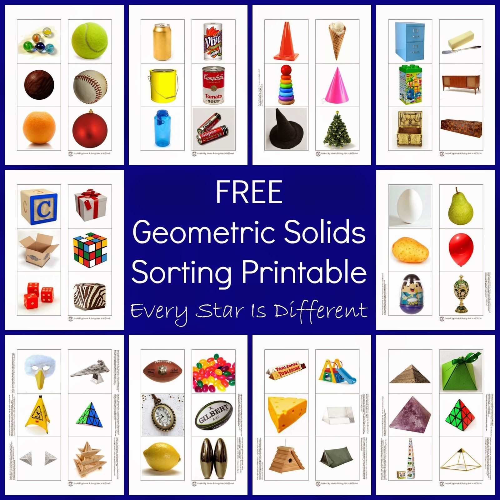 3 Dimensional Shapes Activities Amp Printables Klp Linky