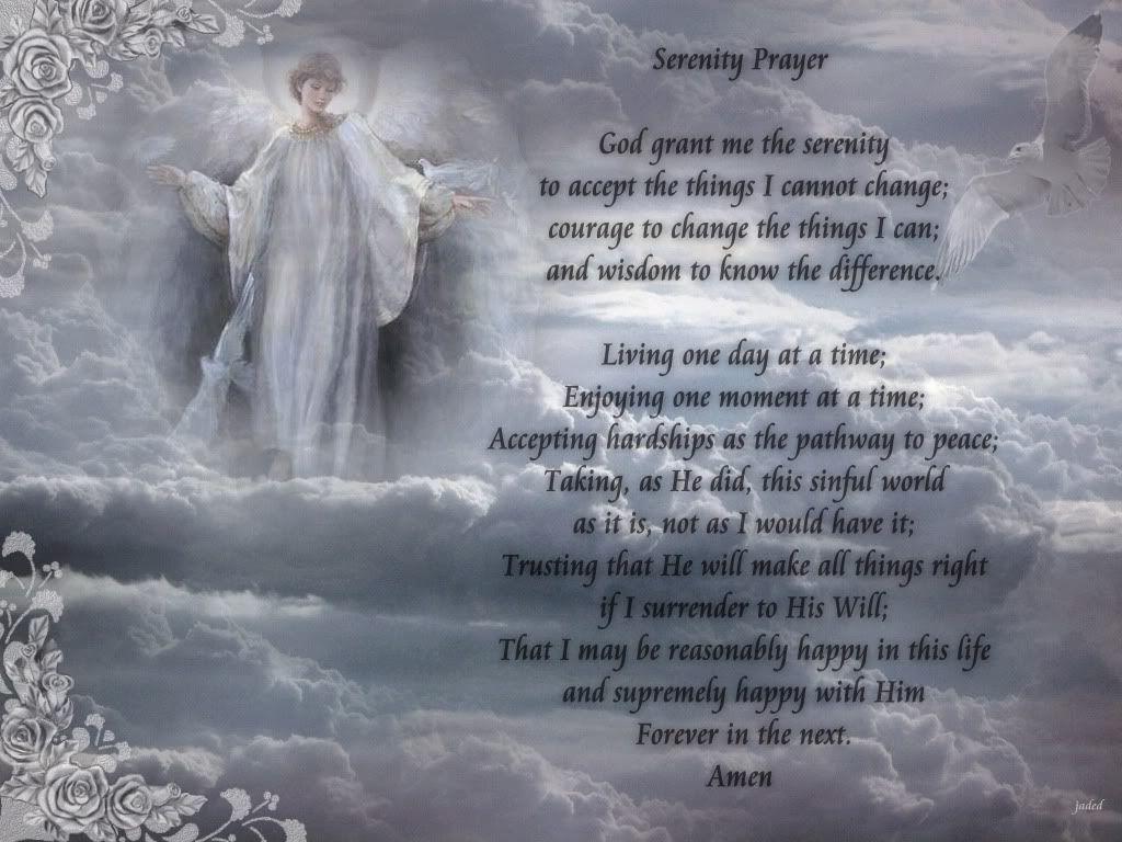 Serenity Prayer Background Serenity Prayer Wallpaper Free